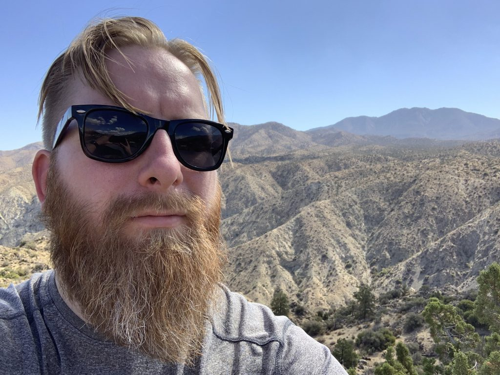 me and mountains